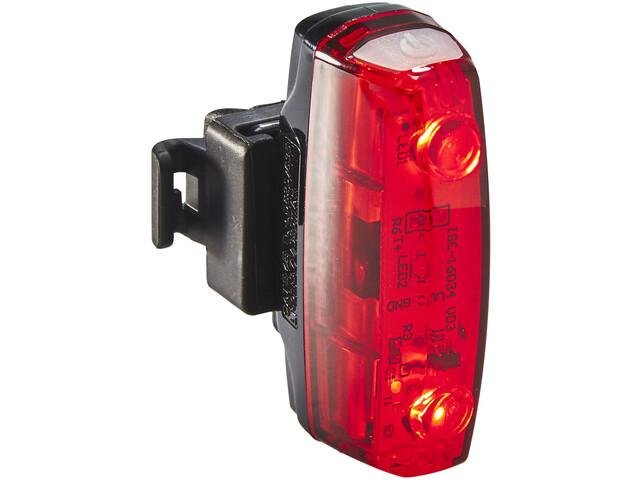 CatEye Rapid Micro G TL-LD620G Baglygte, sort/rød